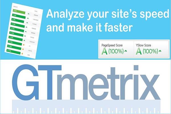 آنالیز سایت در gtmetrix و افزایش سرعت سایت
