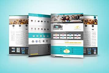 نمونه کار طراحی سایت شرکت شکوفا 97