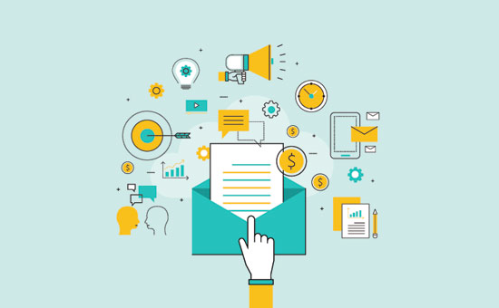 ایمیل مارکتینگ در بازاریابی اپلیکیشن موبایل