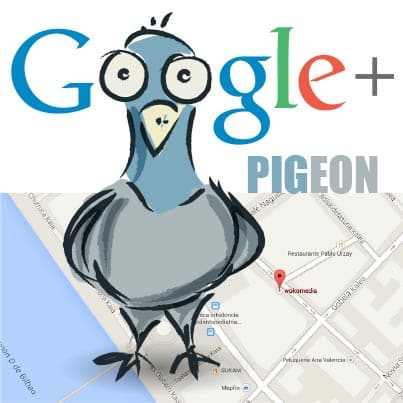 وظیفه ی الگوریتم کبوتر گوگل