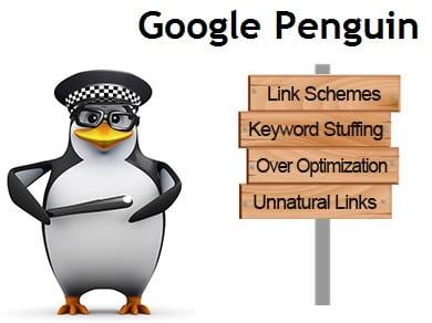اطلاعات مفید از الگوریتم پنگوئن