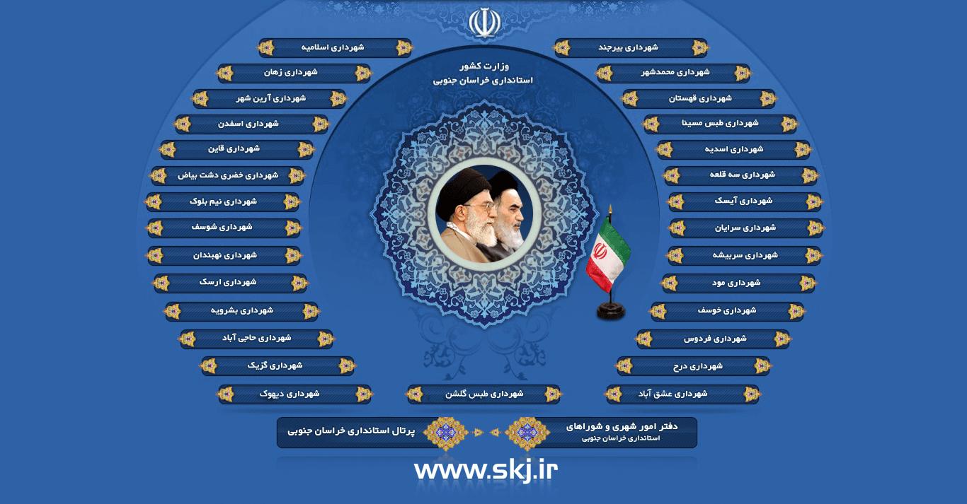 پورتال شهرداری های خراسان جنوبی