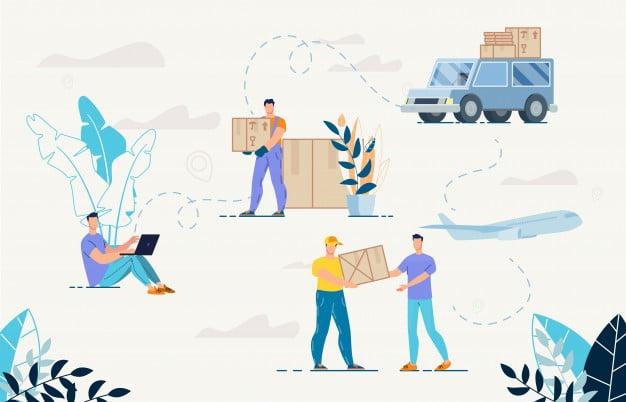 گزینه های حمل و نقل رایگان در فروشگاه های اینترنتی