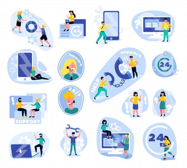 پشتیبانی 24 ساعته اپلیکیشن مسیریابی خدمات آنلاین