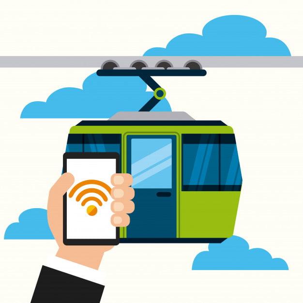 امکانات اپلیکیشن مسیریاب خدماتی آنلاین