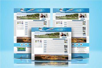 نمونه طراحی سایت شهرداری اسفراین