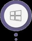 لوگوی خدمات ویندوز