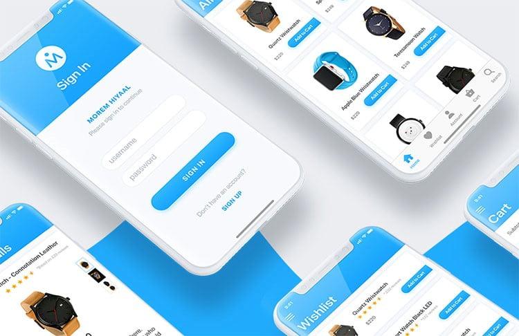 طراحی اپلیکیشن فروشگاهی چیست؟