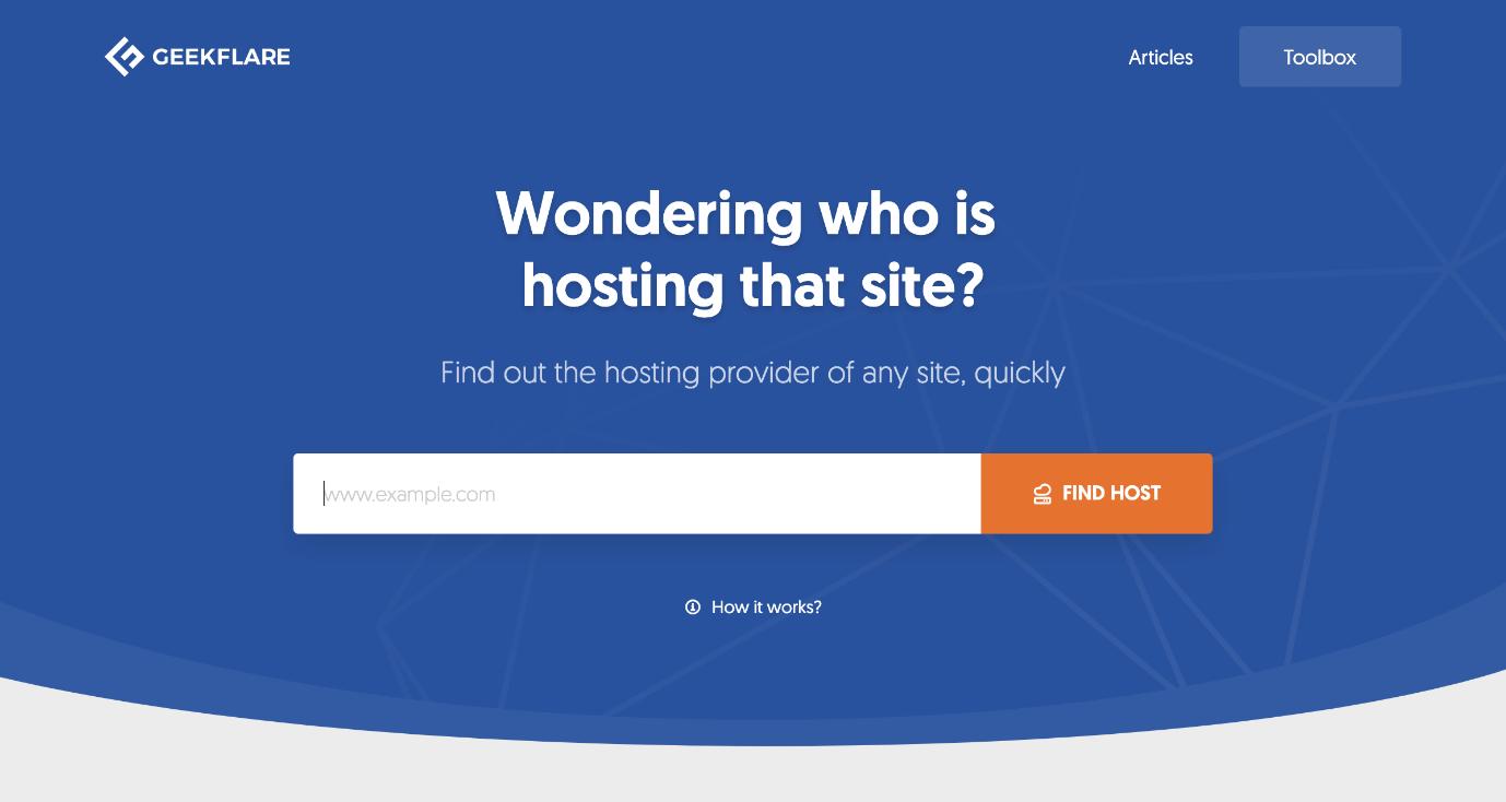 پیداکردن میزبان وب سایت