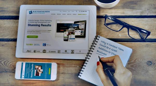 تولید محتوای طراحی سایت بورس