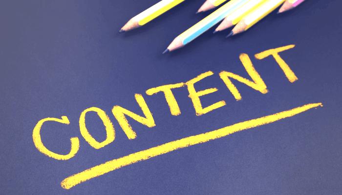 تولید محتوای وب سایت حرفهای