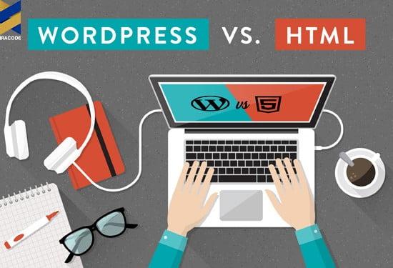 طراحی وب سایت با وردپرس بهتر است یا برنامه نویسی