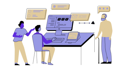 مشخص کردن ایده و طرح گرافیکی طراحی اپلیکیشن